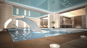Aleksandar Palace Spa Center Project