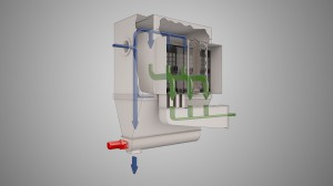 3D Visualisation of Industrial Plant (Air Dust Bag Filter)