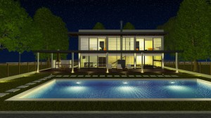 3D Visualization for Holiday House